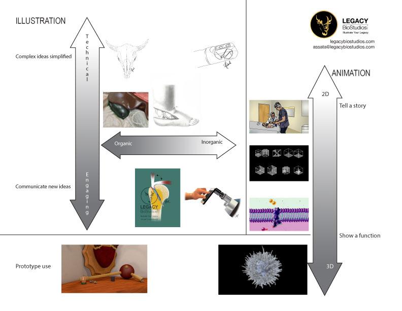 visual illustration chart